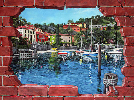 Pescallo, Bellagio, Lake Como, Italy by Debra Dickson