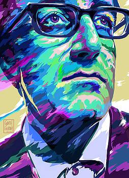 Peter Sellers Pop art Portrait by Garth Glazier