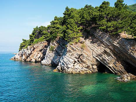 Petrovac Cliffs by Rae Tucker