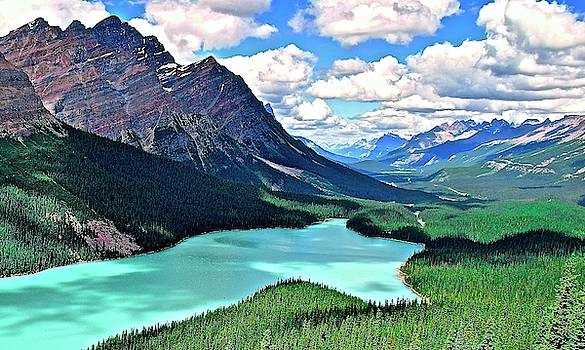 Frozen in Time Fine Art Photography - Peyto in August
