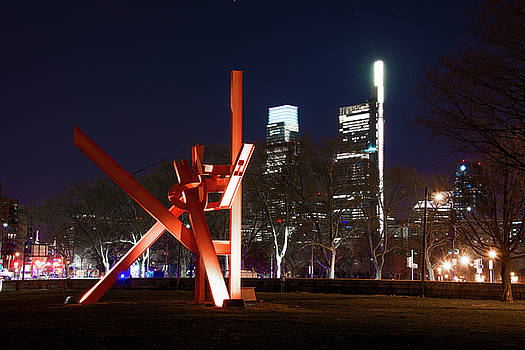 Philadelphia at Night - Iroquois  by Bill Cannon