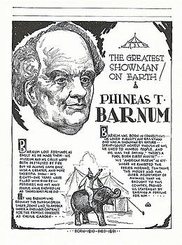 Phineas T. Barnum - The Greatest Showman on Earth by Zal Latzkovich