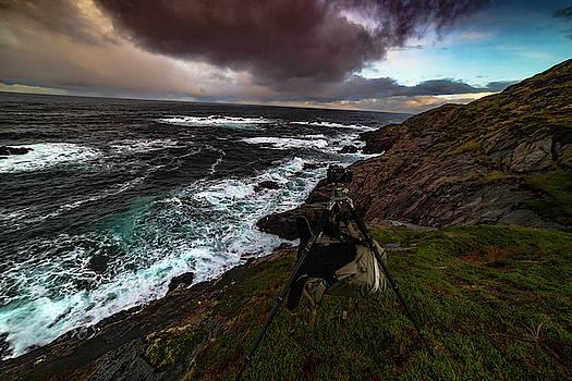 Photo Gear On Landscape Shot by Kai Mueller