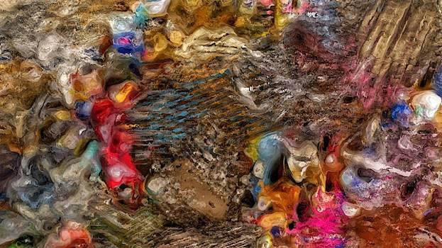 Photography Based Digital Abstract  by Tom Kiebzak