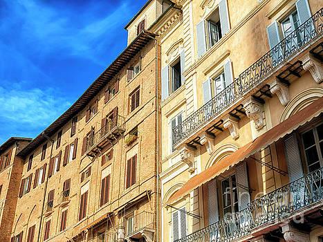 John Rizzuto - Piazza del Campo Architecture in Siena