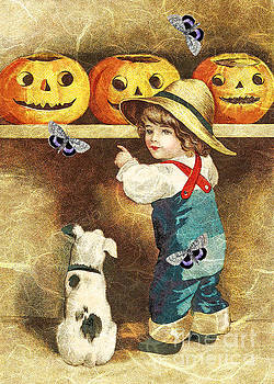 Picking Just The Right Pumpkin  by Tammera Malicki-Wong