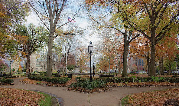 Picture Perfect Park in the Fall by Traci Asaurus