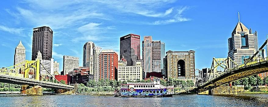 Frozen in Time Fine Art Photography - Picture Perfect Pittsburgh PA Panorama
