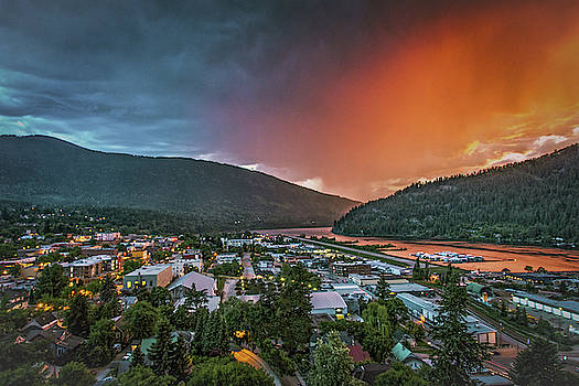 Picturesque Nelson, BC  by Joy McAdams