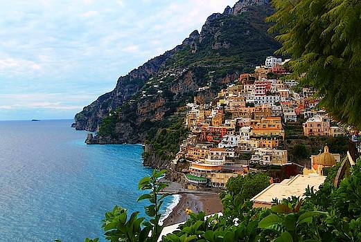 Picturesque Positano by Catie Canetti