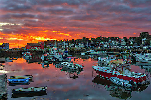 Picturesque Rockport  by Juergen Roth