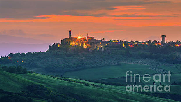 Pienza in the heart of the Tuscany by Henk Meijer Photography