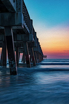 Pier Delight... by Kevin Evans