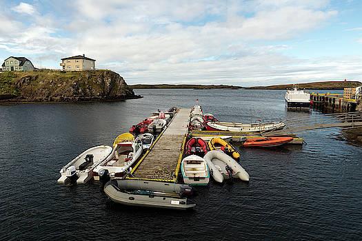 RicardMN Photography - Pier in Stykkisholmur harbor iceland