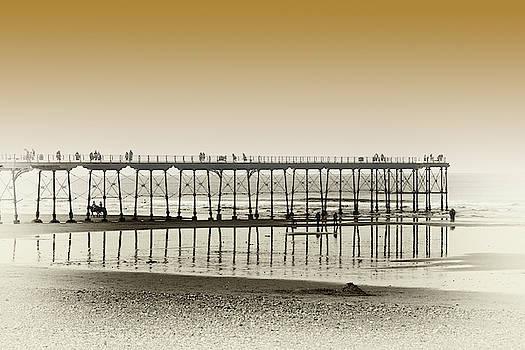 Pier In The Mist by Jeff Townsend