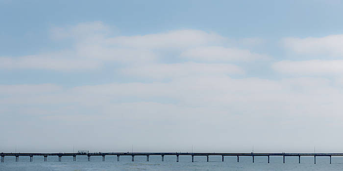 Pier Line by Peter Tellone