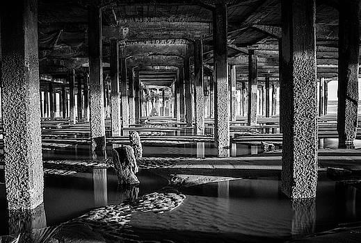 Pier Shadows by Martin Newman