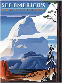 Garth Glazier - Pikes Peak See America