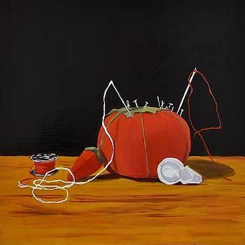 Pin cushion by Emily Warren
