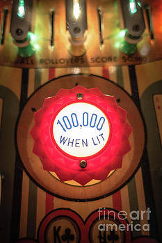 Pinball 100000 When Lit by Edward Fielding