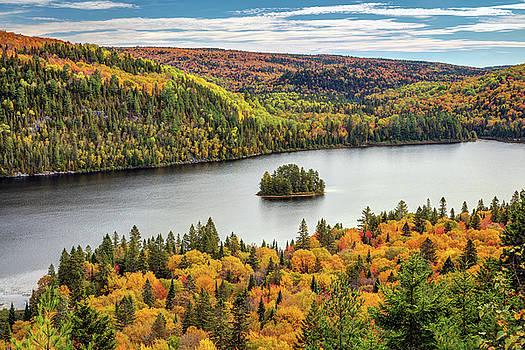 Pine Island at Wapizagonke Lake by Pierre Leclerc Photography