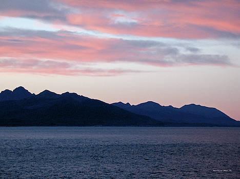 Connie Fox - Pink Clouds. Yakutat Bay, Alaska
