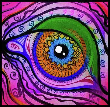 Pink kaleidoscope by Matt Mercer