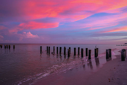 Pink Naples by Joey Waves