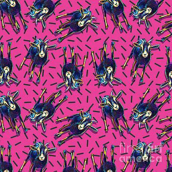 Robert Phelps - Pink Party Goat Pattern