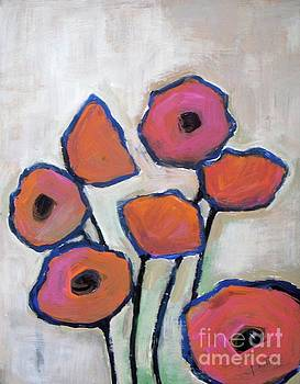 Pink Poppies  by Vesna Antic