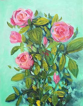 Pink Roses by Marita McVeigh