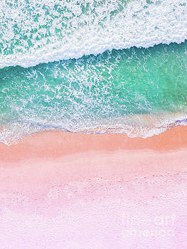 Tina Lavoie - Pink Sands Turquoise Water Caribbean Dream Photograph