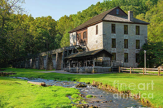Bob Phillips - Pioneer Village Saw Mill and Grist Mill