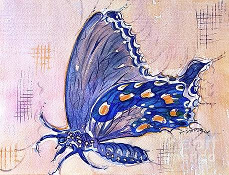 Pipevine Swallowtail by Virginia Vovchuk