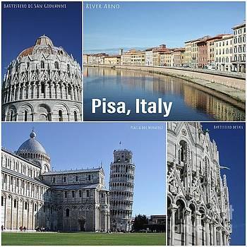 Pisa italy by John Edwards