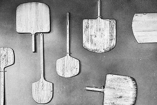 Sharon Popek - Pizza Paddles Black and White
