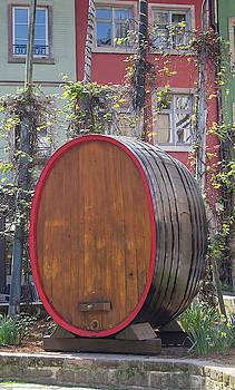 Place des Tripiers Wine Barrel by Teresa Mucha