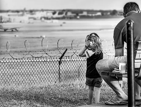 Plane Watching by Ant Pruitt