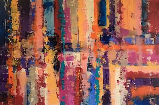 Playful Colors IV by Crystal Stagg