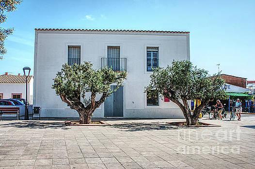 Plaza de la Constitucion, Formentera by John Edwards