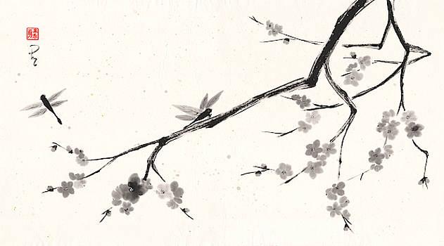 Plum Blossoms 2 by Derek Motonaga