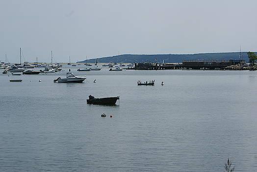 Plymouth Harbor  2 by Ronni Dewey