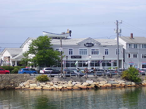 Plymouth Harbor  3 by Ronni Dewey