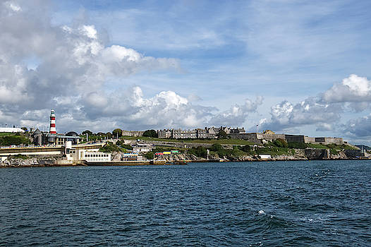 Plymouth Hoe and Royal Citadel by Chris Day