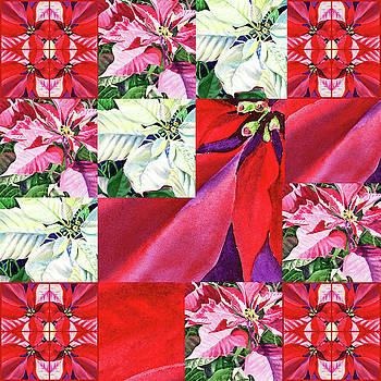 Irina Sztukowski - Poinsettia Christmas Quilt