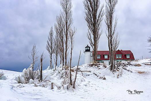 Point Betsie Lighthouse by Peg Runyan
