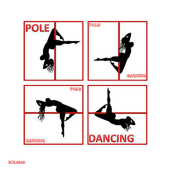 Pole Dancing II by Manos Kolaras