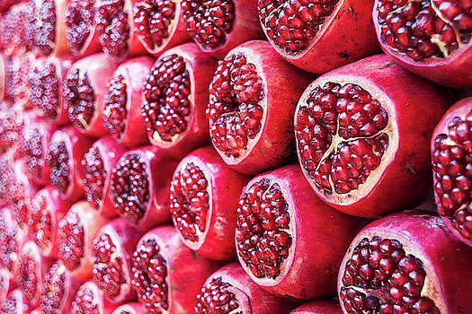 Pomegranates by Sergey Simanovsky