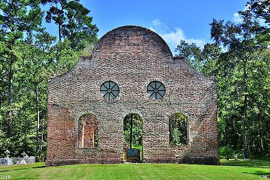 Pon Pon Chapel Of Ease Jacksonboro South Carolina 2 by Lisa Wooten