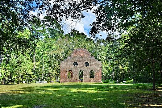 Pon Pon Chapel Of Ease Jacksonboro South Carolina 4 by Lisa Wooten